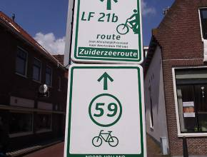 Radurlaub in Holland: Stedenroute
