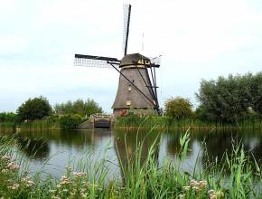 Windmühle in Kinderdijk