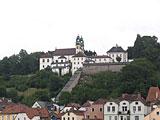 Blick auf die Wallfahrtskirche Mariahilf