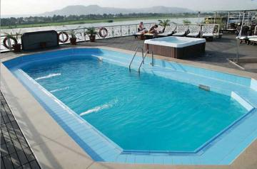 Nile Supreme -  Pool, Sonnendeck