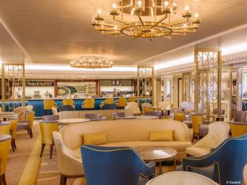Queen Mary 2: Carinthia Lounge